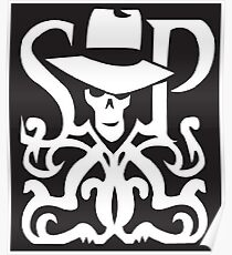 Skulduggery Pleasant Logo Poster