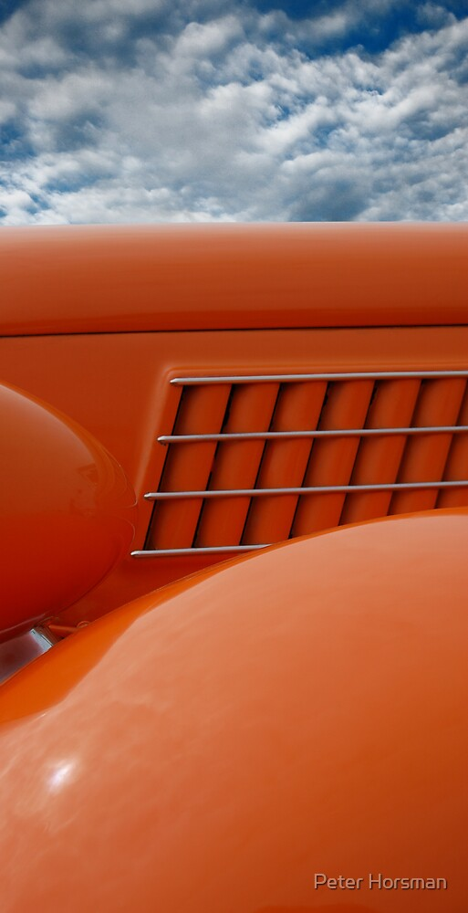 Orange Skin by Peter Horsman