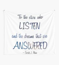 Stars and Dreams Wall Tapestry