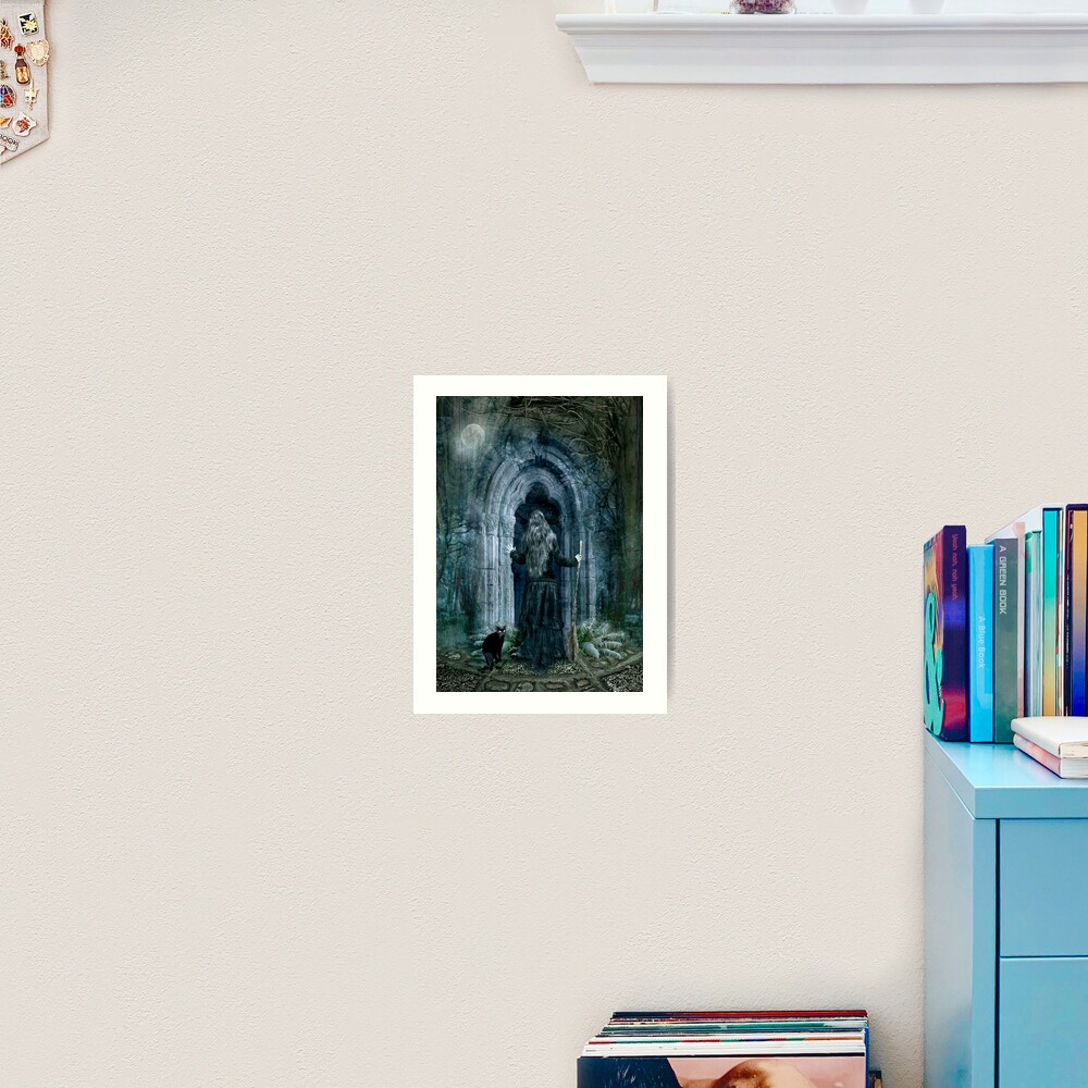 The Magic Door Art Print