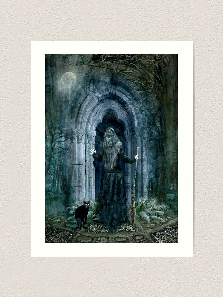 Alternate view of The Magic Door Art Print