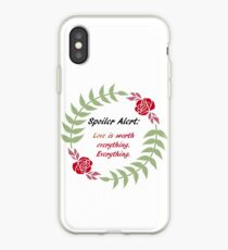 Love is Everything iPhone Case