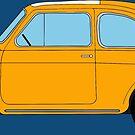 Fiat 500L Illustration by WayneYoungArts