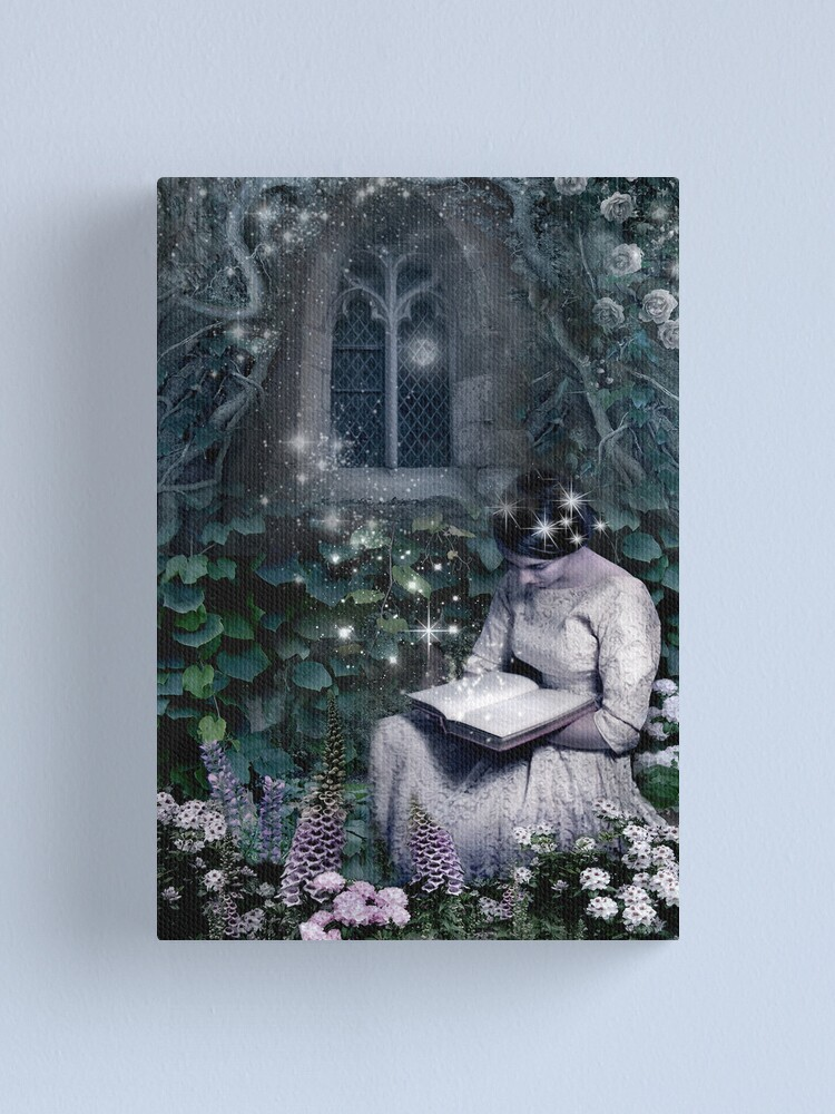 Alternate view of Lost in the Garden Canvas Print
