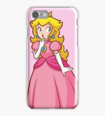 Princess Peach! - Surprised iPhone Case/Skin