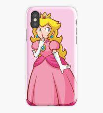 Princess Peach! - Surprised iPhone Case/Skin