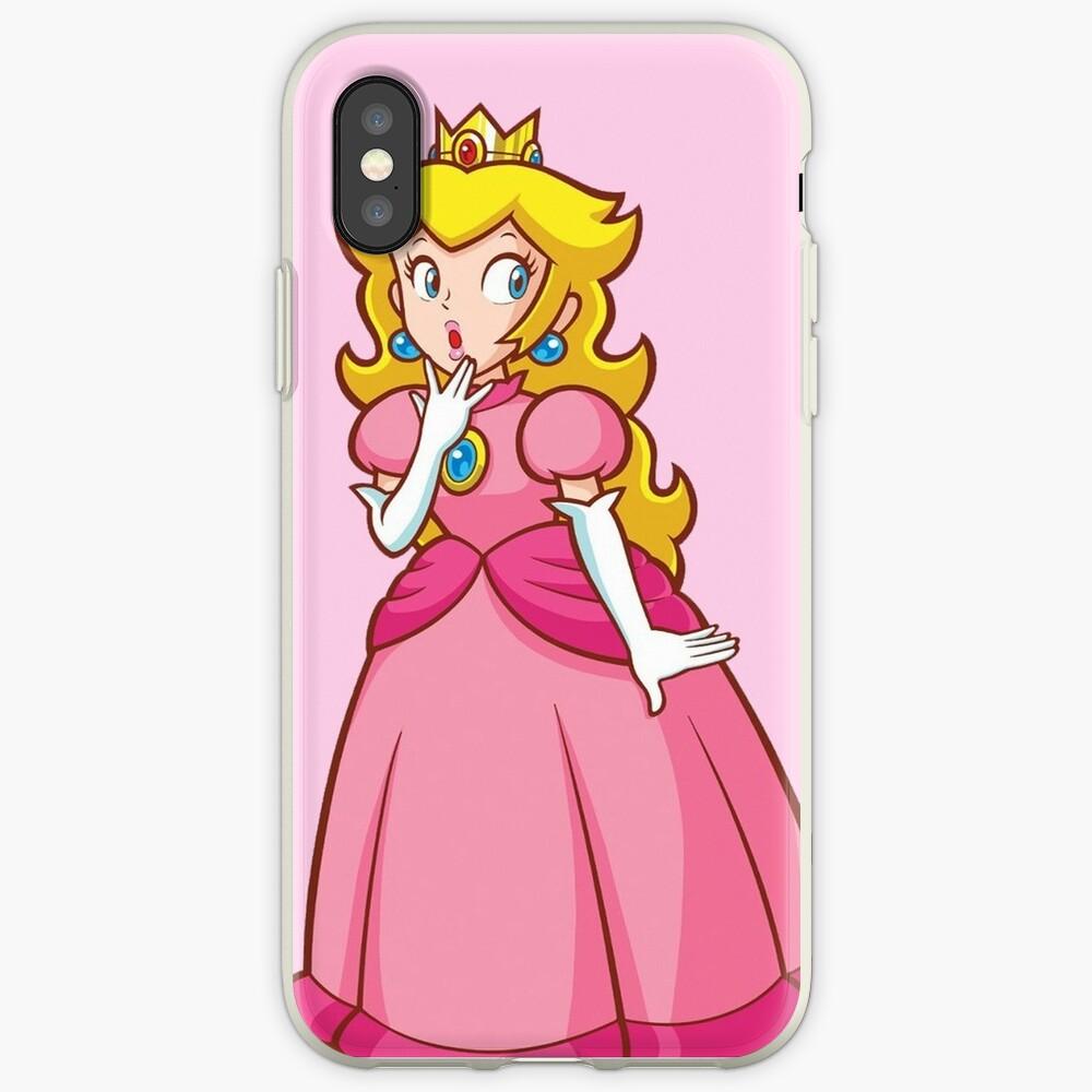 Prinzessin Peach! - Überrascht iPhone-Hülle & Cover