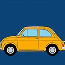 Fiat 500L Classic Illustration by WayneYoungArts