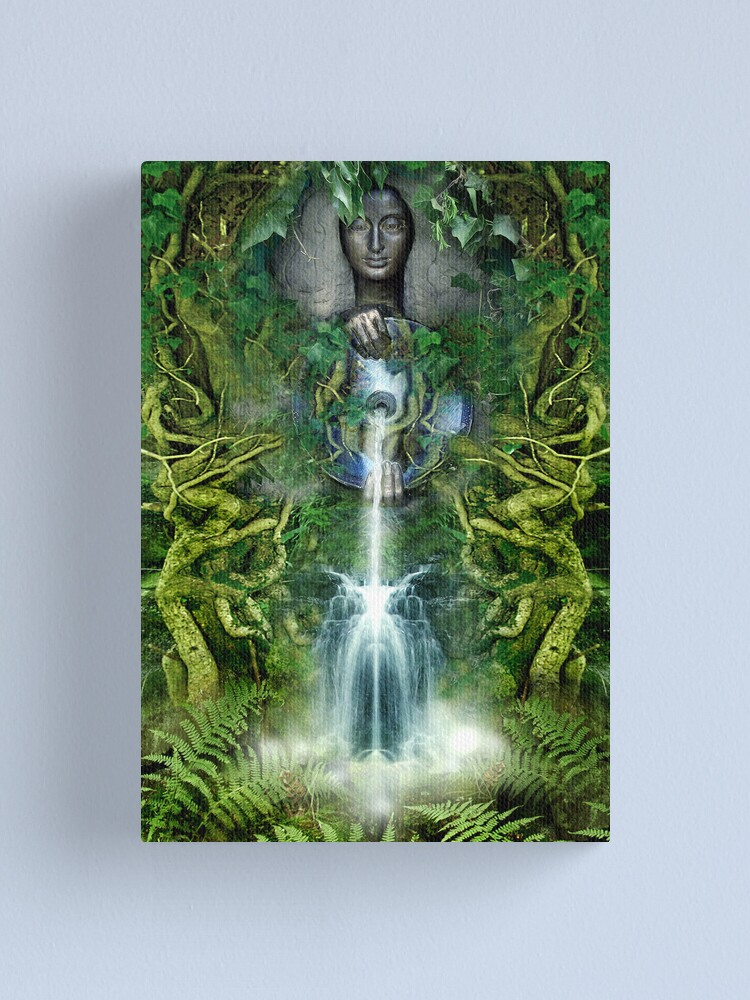 Alternate view of Sacred Spring Canvas Print