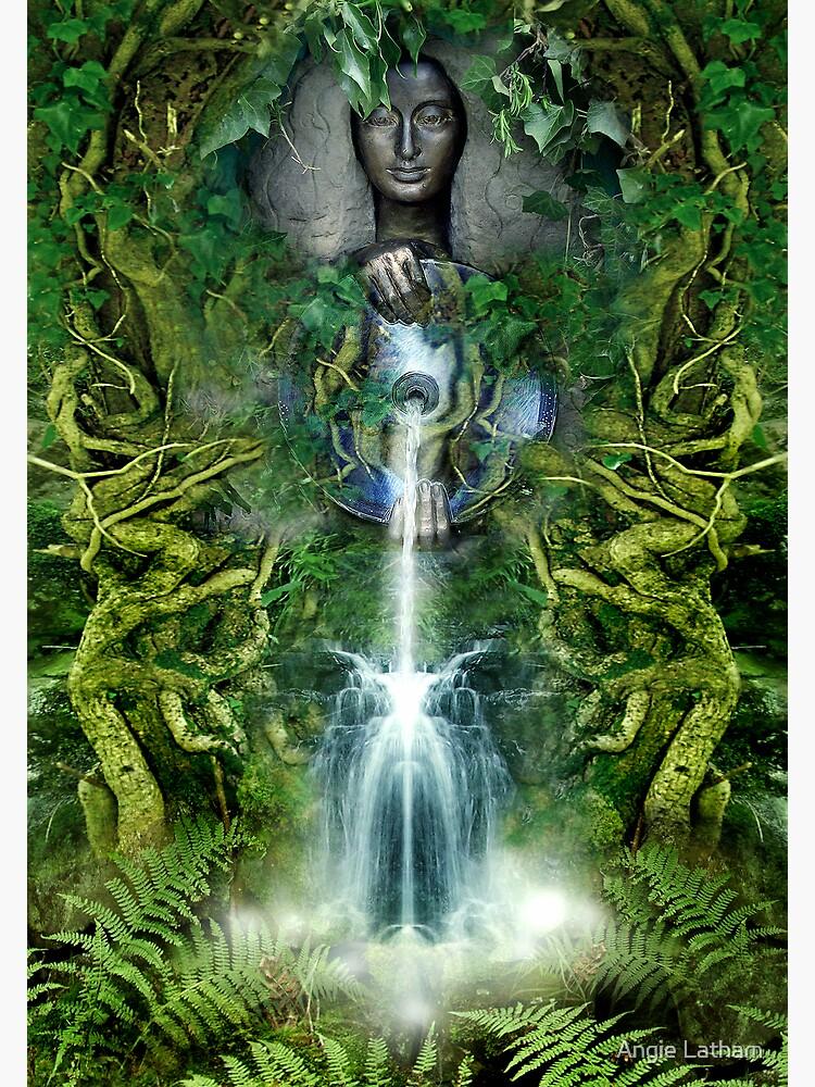 Sacred Spring by AngelaBarnett