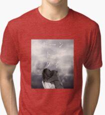 Born to Die Japanese Aesthetic Alternate Tri-blend T-Shirt