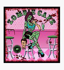Zombie Cafe Photographic Print