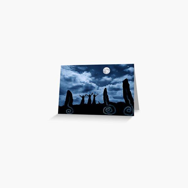Moondancing Greeting Card