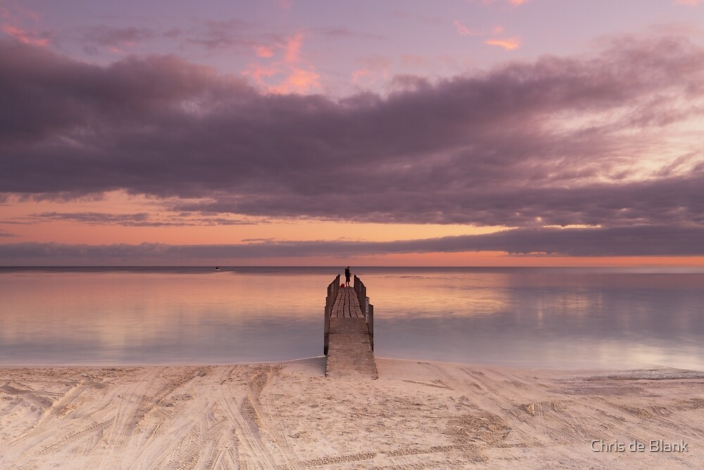 Quindalup Jetty by Chris de Blank