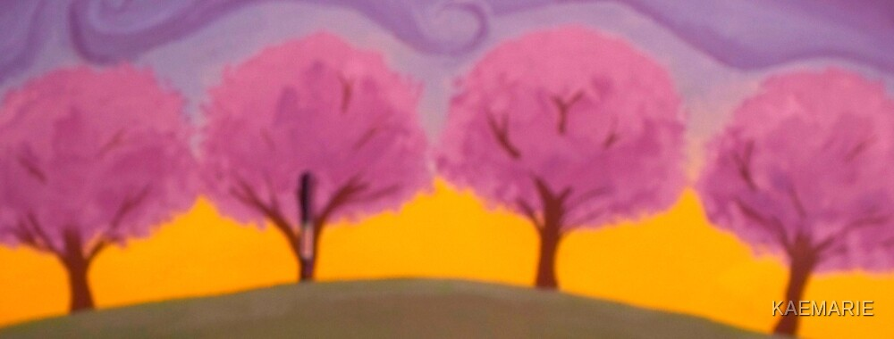 PINK TREES by KAEMARIE