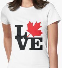 Canada - Love (Black Text) T-Shirt