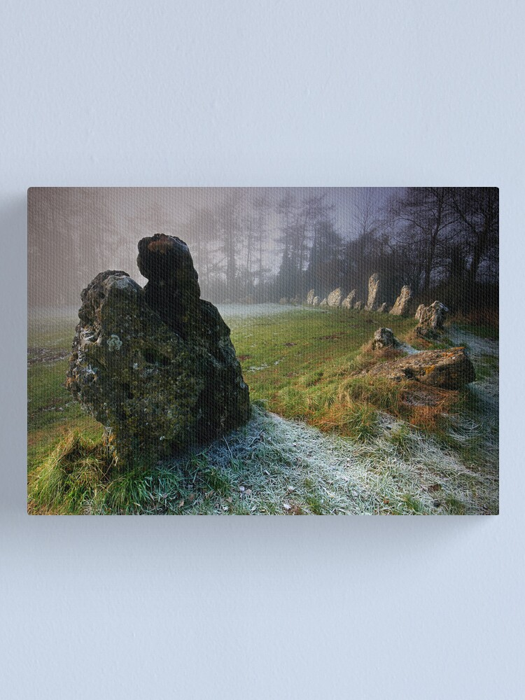 Alternate view of the Rollright Stones Canvas Print