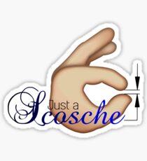 Just a scosche Sticker