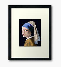 Vermeer Study Framed Print