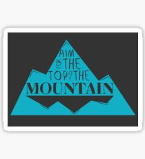 Top of the Mountain Sticker