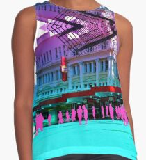 Pastel Brisbane City - Meet you outside Hungry Jacks Contrast Tank
