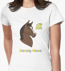 Danzig Moon Womens Fitted T-Shirt