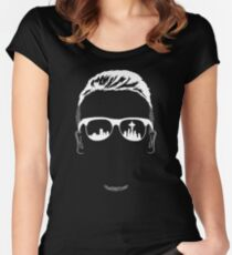 The Man's Shadow Art Women's Fitted Scoop T-Shirt