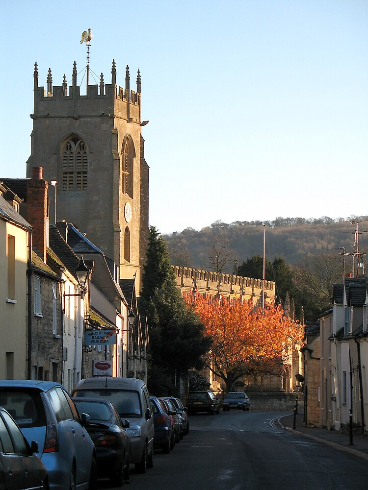 St Peter's Church, Winchcombe by Martin Carr
