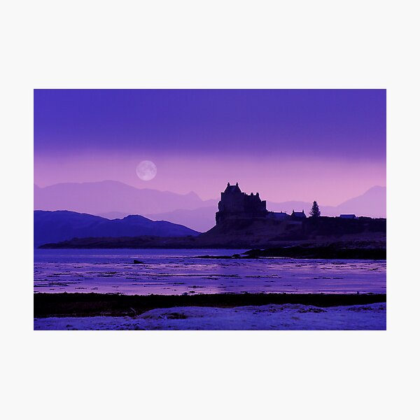 Moonrise : Isle of Mull Photographic Print