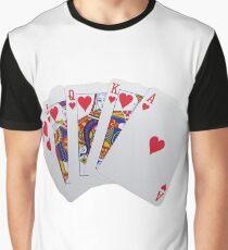 Royal Flush Graphic T-Shirt
