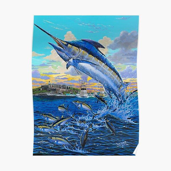 Puerto Rico Marlin  Poster