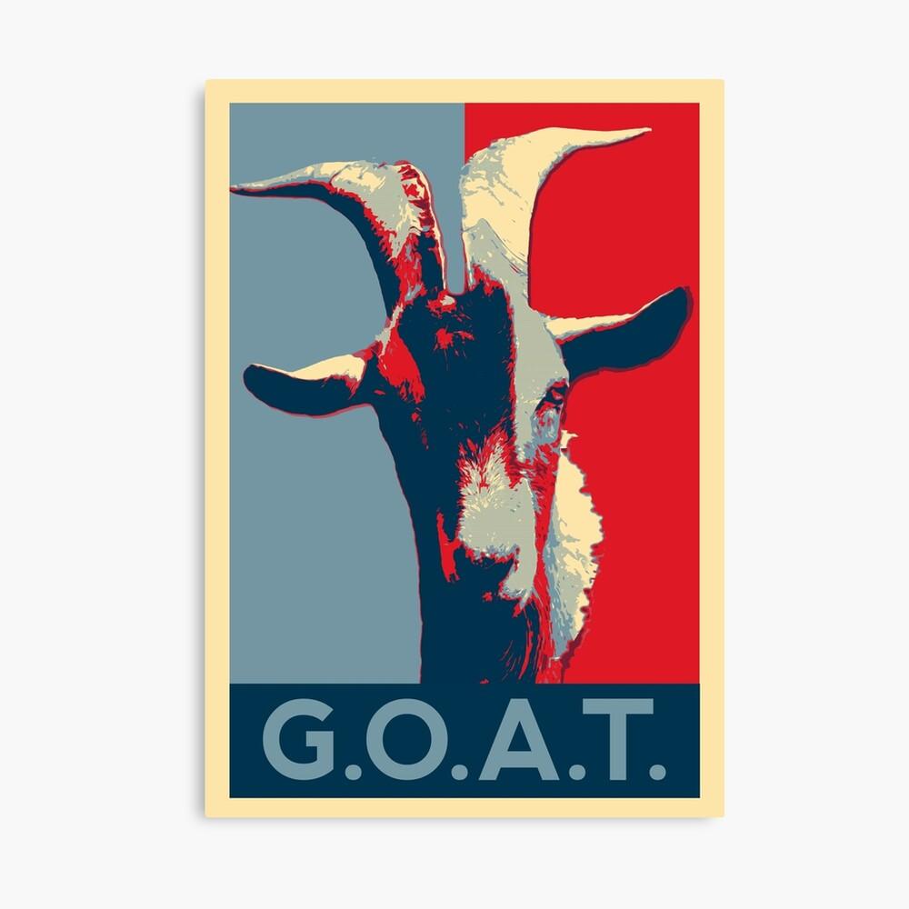 GOAT - GOAT - El mejor de todos los tiempos Lienzo
