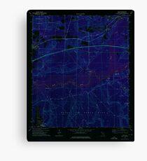 USGS TOPO Map Florida FL Holt 346670 1973 24000 Inverted Canvas Print