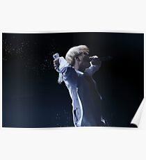 Suga On Stage Poster