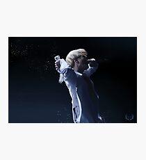 Suga On Stage Photographic Print