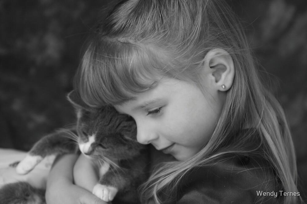 Kitty Hug by Wendy Ternes