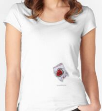 Lucky Strike Women's Fitted Scoop T-Shirt