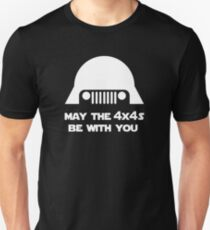 May The 4x4s Be With You (Dark) Unisex T-Shirt