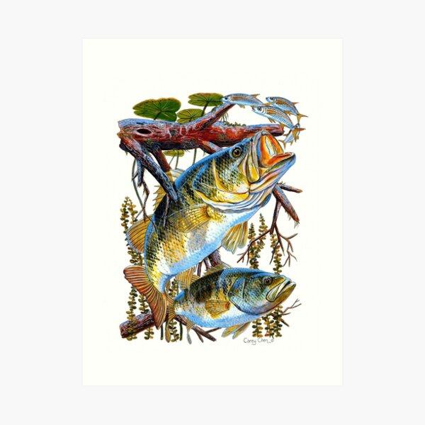 Bass Undercover Art Print