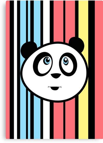 Panda Retro by Adam Santana