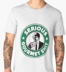Pulp Fiction Serious Gourmet Shit Men's Premium T-Shirt