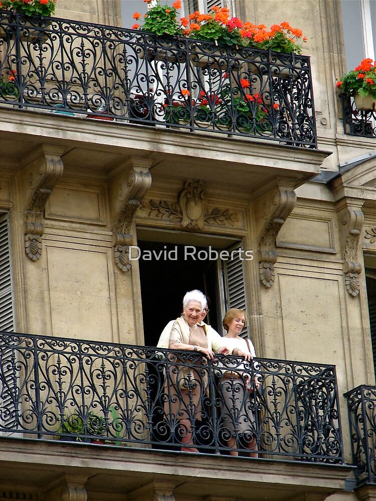 Observation parisienne de femmes by David Roberts