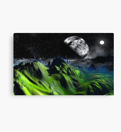Green Hills of Home Canvas Print