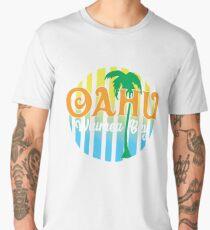 Oahu Waimea Bay Hawaii Men's Premium T-Shirt