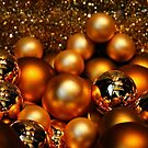 Golden Christmas by Barbara  Brown