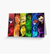 Miraculous Holders Greeting Card