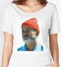 Steve Zissou - Bill Murray  Women's Relaxed Fit T-Shirt
