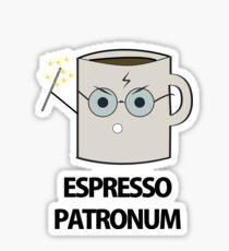 Pegatina Espresso Patronum