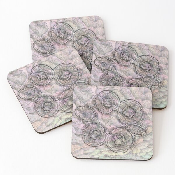 Reef Amoeba 2 Coasters (Set of 4)