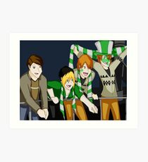 Quidditch World Cup Art Print
